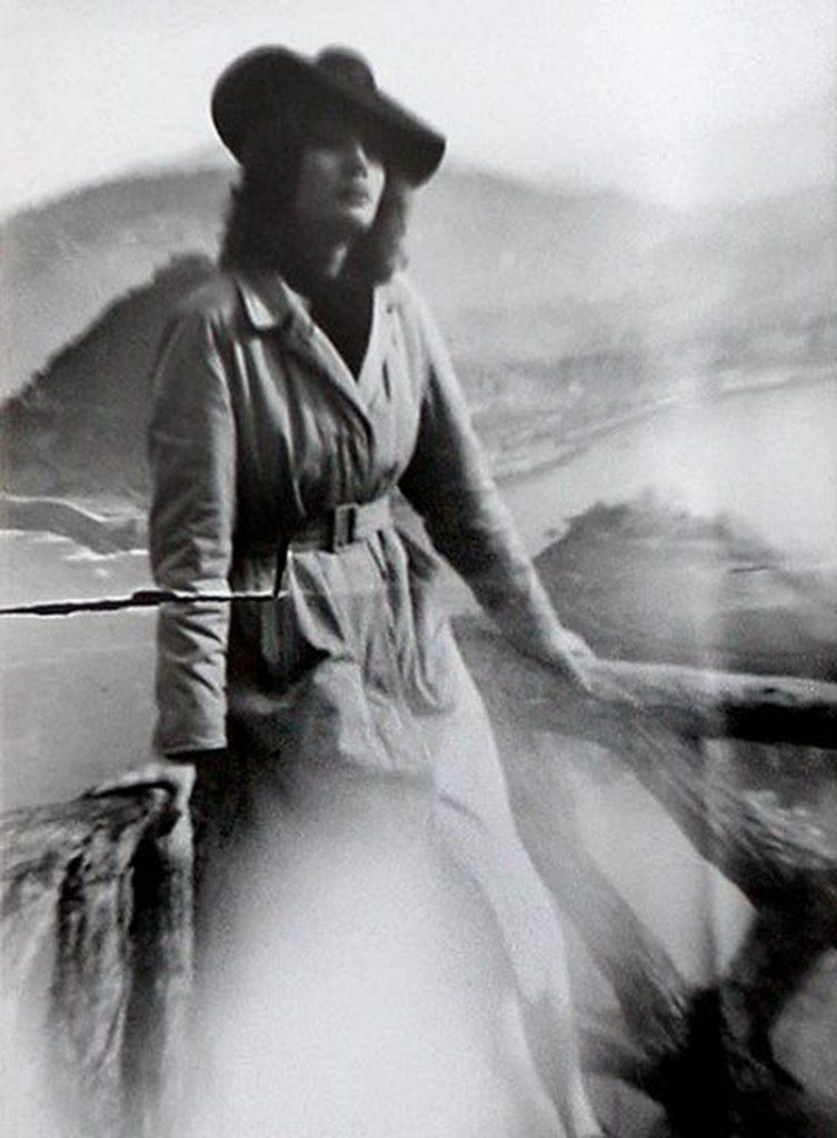 La espía Marina Vega a los 17 años.