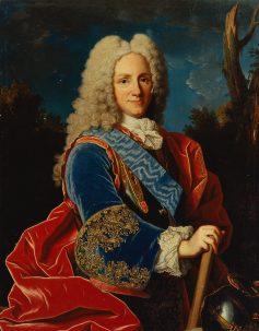 Felipe V hacia 1723. öleo sobre lienzo de Jean Ranc